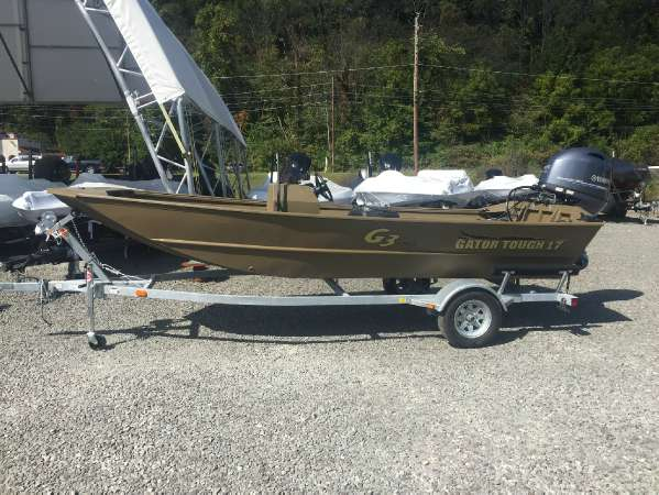 G3 Boats 17 CCJ Jet Tunnel