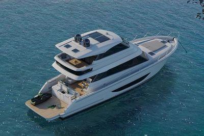 Maritimo M55 Enclosed Flybridge Motor Yacht Manufacturer Provided Image