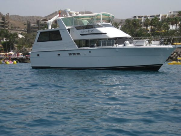 Hatteras 52 Motor Yacht Starbord Profile