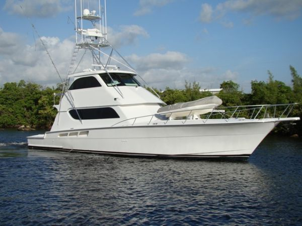 Hatteras 65 Convertible-Enclosed Bridge Photo 1