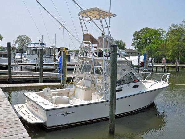 Albemarle 280 Express Fisherman Profile