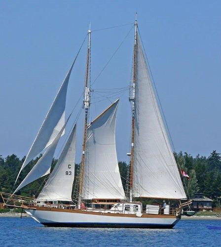Custom Steel schooner