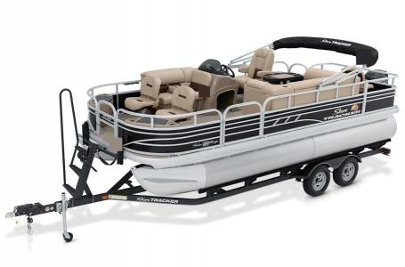 Sun Tracker Signature Fishing Barge 20 w/90ELPT 4S CT