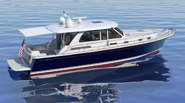 Sabre 45 Salon Express Profile