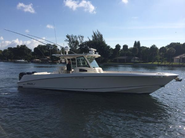 Boston Whaler 370 Outrage Center Console Walk Around