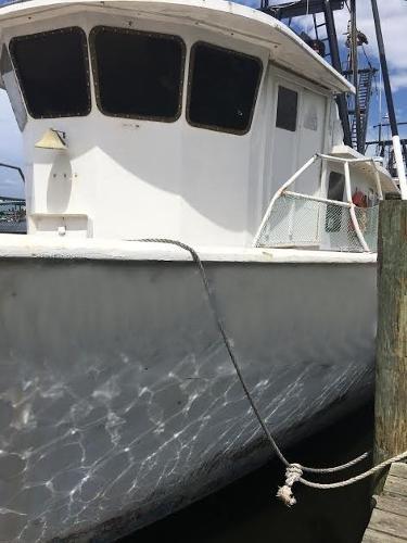 Fiberglass Fishing Trawler