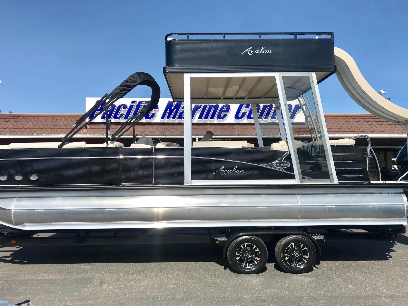 Avalon Catalina Platinum Entertainer Funship 27' w/ 250HP Mercury 4 Stroke Verado!