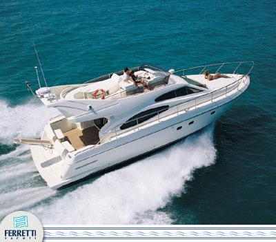 Ferretti Yachts 480 Manufacturer Provided Image: 480