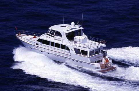 Jefferson Starship Deckhouse Motor Yacht 73' Jefferson SABBATICAL