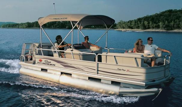 Sun Tracker PARTY BARGE 21 Signature Series Manufacturer Provided Image