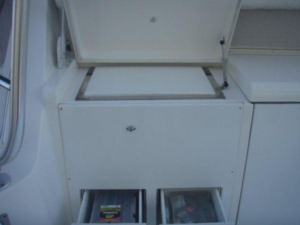 Freezer & Bait Prep Station