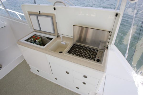 Cockpit Summer Galley