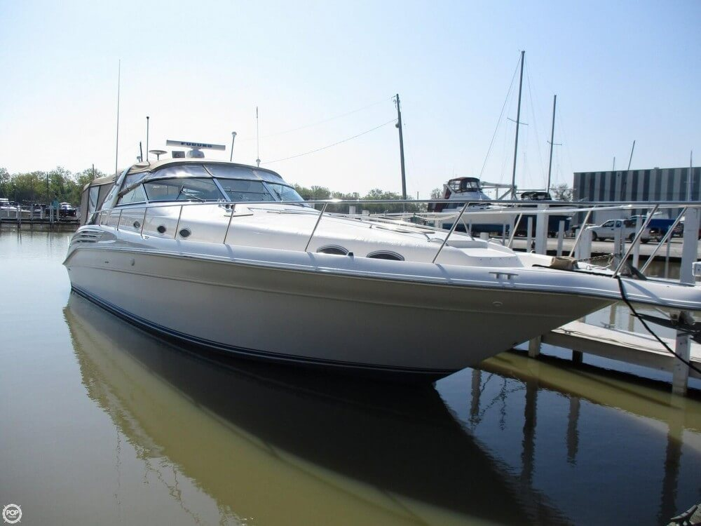 Sea Ray 450 Sundancer 1996 Sea Ray 450 Sundancer for sale in Curtice, OH