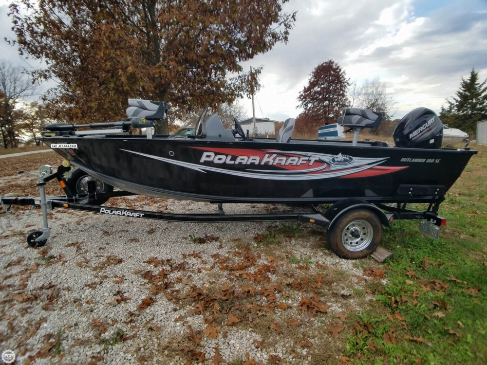 Polar Kraft OUTLANDER 160SC 2016 Polar Kraft Outlander 160SC for sale in Macks Creek, MO