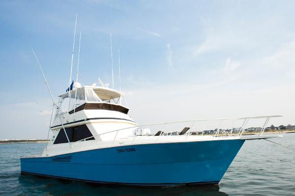 Viking 45 Convertible Profile