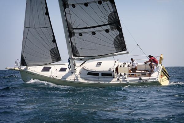 Van Dam Cruising/Racing Sloop On the water
