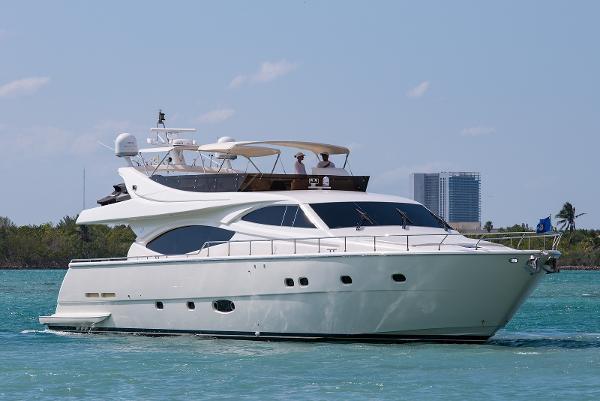 Ferretti Yachts 760 Starboard Profile 760 Ferretti SEA DIVA