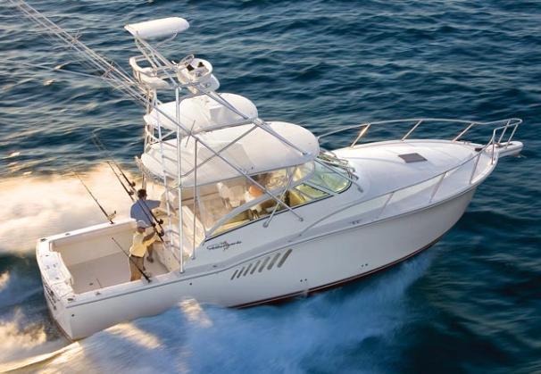 Albemarle 360 Express Fisherman Manufacturer Provided Image