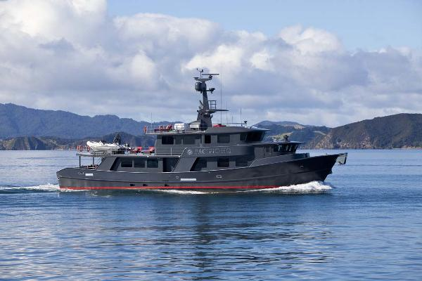 Custom Jemison Motor Yacht Profile