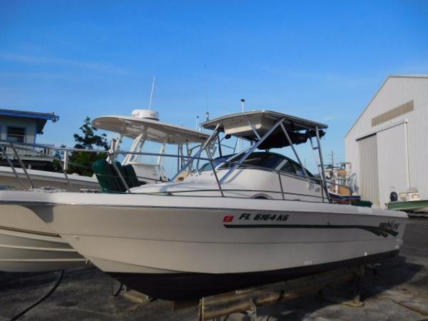Pro Line 231 Wa Starboard Profile