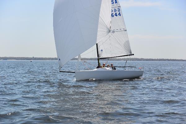 J Boats J/70 Under sail