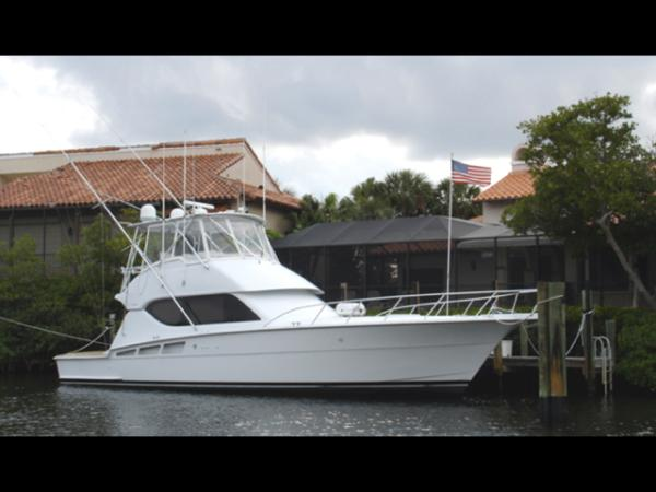 Hatteras 50 Convertible SF Profile