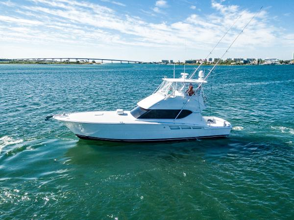 Hatteras 50 Convertible Port Profile