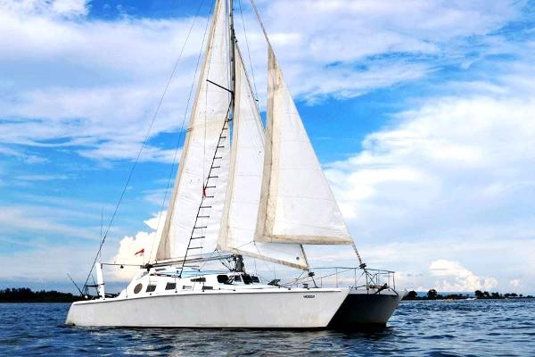 Cutter-Rigged Catamaran 46' Cruising Catamaran