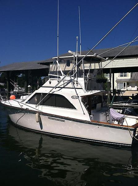 Ocean Yachts 38 Super Sport Profile 2