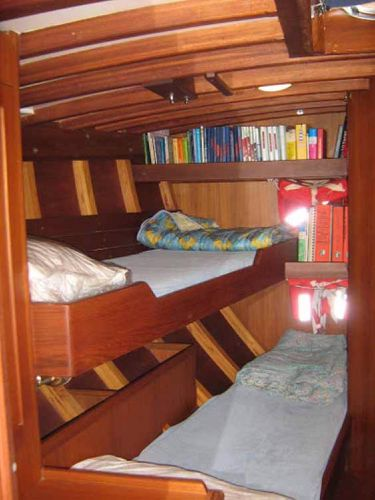 Carlini Sciarrelli fwd port cabin
