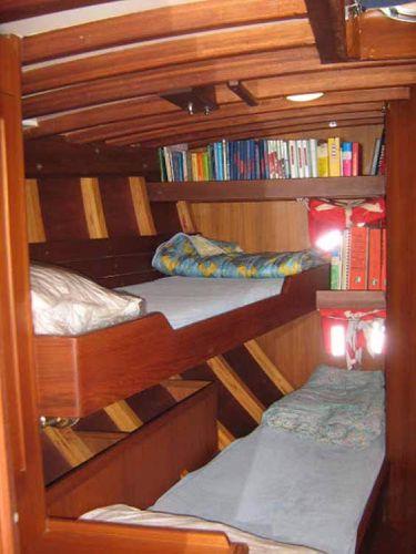 Carlini Sciarrelli fwd port cabin