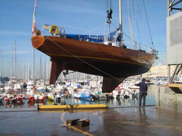 Carlini Sciarrelli hull lines