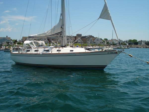 Pearson 39 Starboard Hull