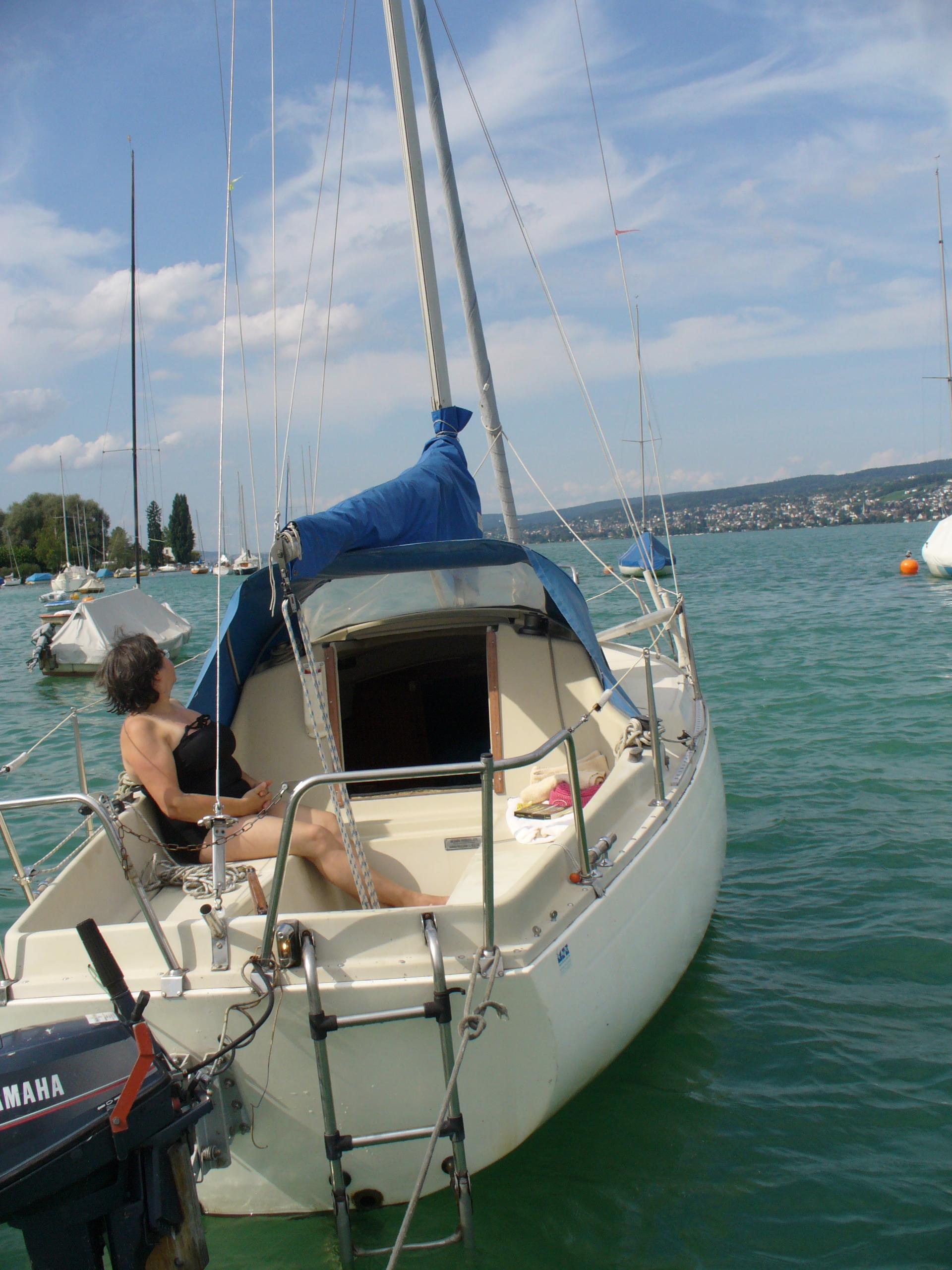 Gower Boatyard Albin Viggen