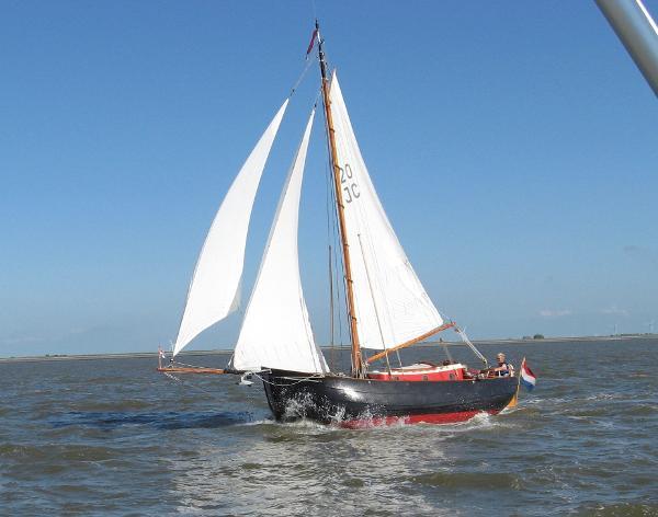 Sailboat De Scheepsbouwers Staverse Jol 8m