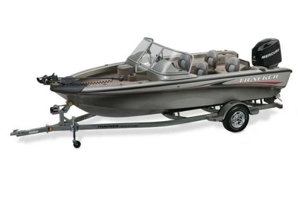 Package includes boat, motor and trailer.