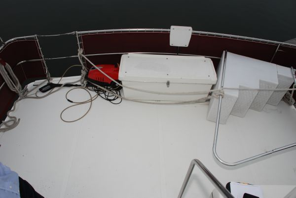 Back Deck, Stern Rails, Storage