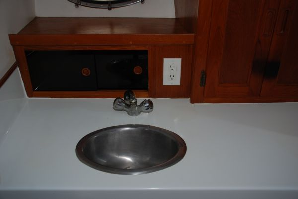 Sink and GFI Outlet
