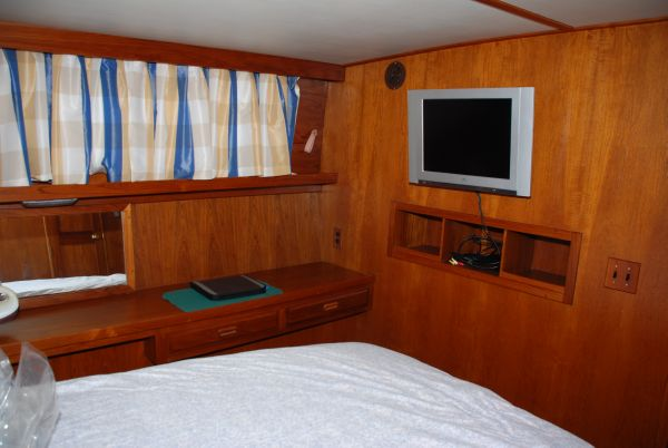 Master Stateroom Flat Screen TV