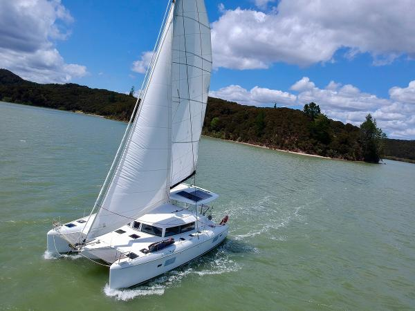 Lagoon 420 Lagoon 420 'Gabian' in NZ January 2020