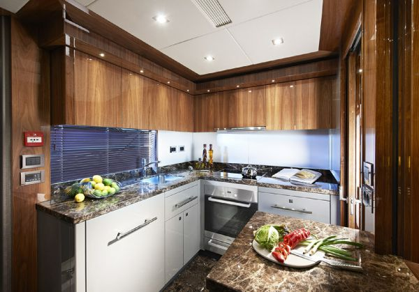 Sunseeker 28M Galley
