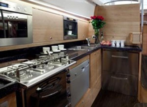 Delphia 46cc Galley