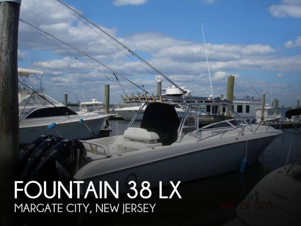Fountain 38 LX 2005 Fountain 38 LX for sale in Margate, NJ