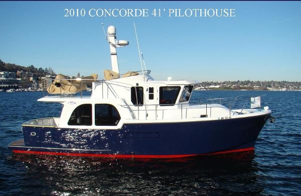 Concorde 41 Pilothouse