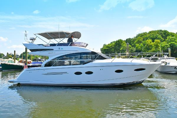 Princess 43 Flybridge Starboard Side