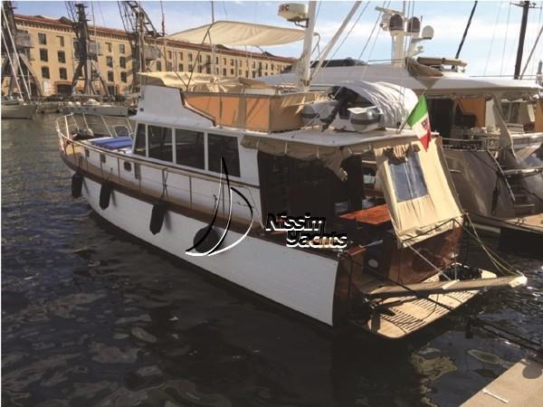 Custom Naviga 49 Trawler Naviga 49 Trawler at anchor