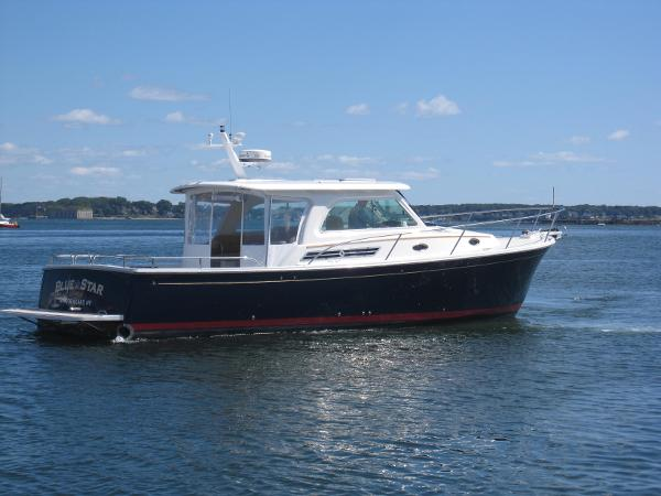 2014 back cove 37 downeast portland maine for Fishing boat dealers near me