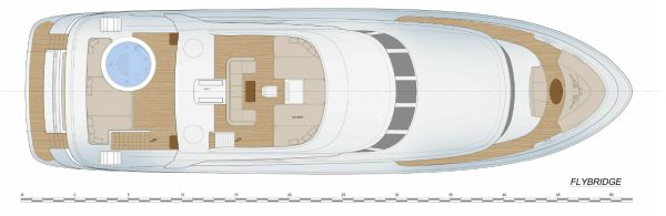 Fifth Ocean 28 Layout Flybridge