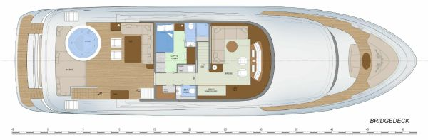 Fifth Ocean 28 Layout Bridge Deck