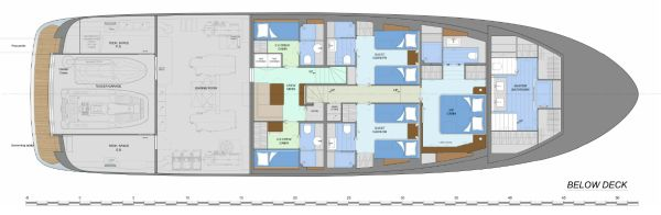Fifth Ocean 28 Layout Below Deck